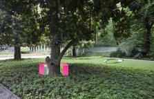 Il corpo del vuoto, nstallazioni di Davide Pizzigoni a Villa Necchi Campiglio
