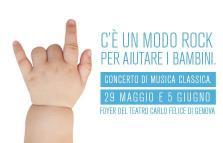 Un modo rock per aiutare i bambini - Concerto di musica classica al Teatro Carlo Felice