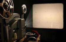 Proiezione di film di Magdalo Mussio in via Foro Buonaparte