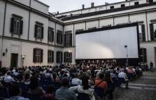 AriAnteo 2016 Palazzo Reale, cinema all'aperto