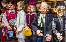 Burattini, marionette… Robot e bambini veri