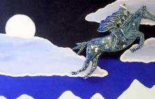 Sciamani Siberiani e Cavalieri Azzurri, mostra di Alberto Pessani