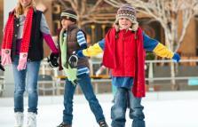 Gru on Ice, pista di pattinaggio sul ghiaccio
