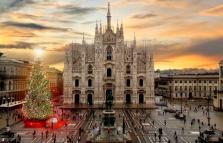 Natale 2016, accensione dell'albero di piazza Duomo, con concerto di Bianca Atzei