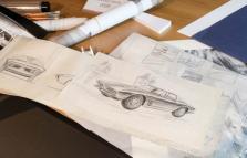 Giugiaro e il suo percorso, dai dipinti alle concept car