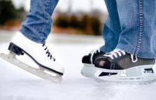 Pista di pattinaggio sul ghiaccio al Porto Antico