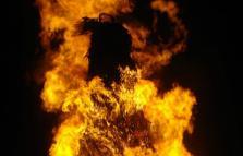 Doppio Falò di Sant'Antonio a Robecco sul Naviglio