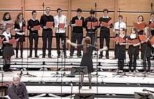 Coro Maria Contrastini, concerto d'inverno a Piazza Portello