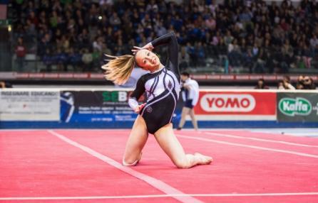 Campionato di ginnastica artistica e trampolino elastico