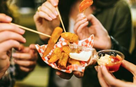 Mangia e vinci street food
