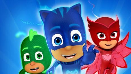 I PJ Masks con i loro superpoteri al Centro Commerciale Le Terrazze ...