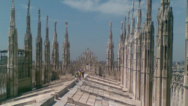 Visita guidata alle Terrazze del Duomo di Milano