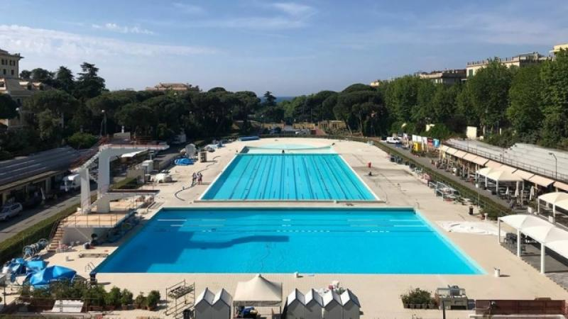 Piscine di albaro festa per i 10 anni dalla riapertura con le campionesse di nuoto - Prezzi piscine albaro ...